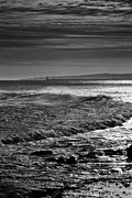 Jim Jones - Seascape in black and...