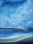 Lisa Rodriguez Art - Seascape by Lisa Rodriguez