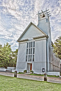Northwest Florida Posters - Seaside Chapel Poster by Scott Pellegrin