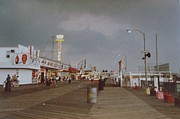 Seaside Heights Storm Print by Joann Renner