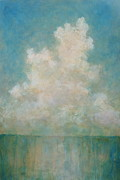 Cumulus Nimbus Posters - Seaside Poster by Pam Talley