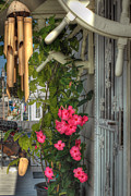 Wind Chimes Photos - Seaside Porch by Joann Vitali