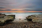 Larry Marshall Prints - Seaside Reef Sunset 16 Print by Larry Marshall