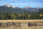 Split Rail Fence Photos - Season of change by Richard Verkuyl