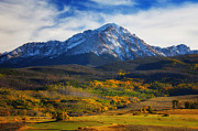 Snow Capped Mountains Prints - Seasons Change Print by Darren  White