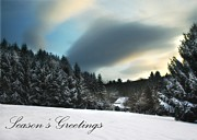 Seasons Greetings - Clarks Valley Print by Lori Deiter