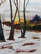 Seasons Print by Jack G  Brauer