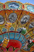Swings Photos - Seaswings At Santa Cruz Beach Boardwalk California 5D23906 by Wingsdomain Art and Photography