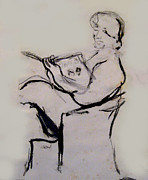 James Gallagher - Seated Figure Reading