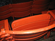 Seat Prints - Seats - Nationals Park - 01132 Print by DC Photographer