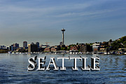 Lake Union Prints - Seattle Print by Cheryl Young