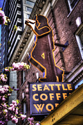 Seattle Coffee Works Print by Spencer McDonald