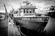 Fishing Vessel Framed Prints - Seattle Fisherman Wharf Framed Print by Puget  Exposure