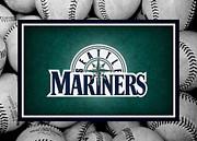 Seattle Mariners Print by Joe Hamilton