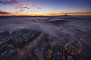 Seattle Photos - Seattle Morning Dream by Mike Reid
