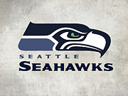 Seattle Seahawks Fan Panel Print by Daniel Hagerman