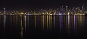 Bob Noble Photography - Seattle Skyline from Alki
