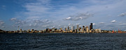Seattle Waterfront Prints - Seattle Skyline Print by Reflective Moments  Photography and Digital Art Images