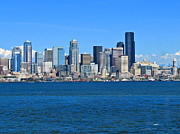 Landscape - Seattle Skyline by Sean Griffin