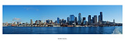 Seattle Skyline Art - Seattle Skyline by Twenty Two North Photography