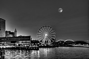Large Format Art - Seattle Summer Twilight by Greg Sigrist