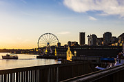 Seattle Waterfront Photos - Seattle Waterfront by Andrew Pacheco