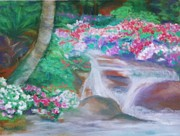 Shirley Moravec - Seaworld Waterfall
