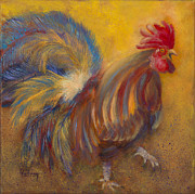 Rooster Art - Sec of Co-ops and Urban Development by Lynn Rattray