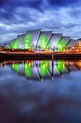 Secc Glasgow Scotland Print by John Farnan