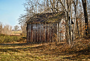 Ghost Signs Prints - Secluded Barn Print by Greg Jackson