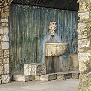 David Letts - Secluded Water Fountain...