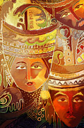 Indonesian Paintings - Second Face by Corporate Art Task Force