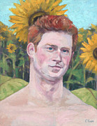Prince Harry Posters - Second Sonflower Poster by William Noonan