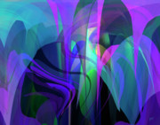 Impressionist Digital Art - Secrecy by Gerlinde Keating - Keating Associates Inc