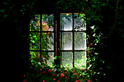 Window Bars Prints - Secret garden Print by Gry Thunes