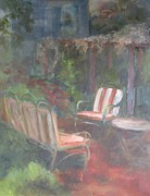 Susan Richardson Paintings - Secret Garden by Susan Richardson