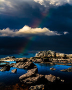 Rainbow Photo Posters - Secret Place II Poster by Bob Orsillo