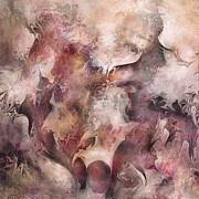 Secrets And Lace Print by Rachel Christine Nowicki