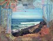 Paint Photograph Mixed Media Prints - Secrets of the Sea Print by Sarah Schnieder