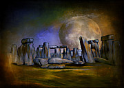 Monument Digital Art Originals - Secrets of the world  by Andrzej  Szczerski
