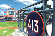 Citi Field Prints - Section 413 Citi Field Print by Allen Beatty