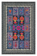 Native American Rug Prints - Sectional Order Print by Lawrence Chvotzkin