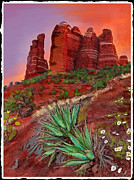 Pi Mixed Media - Sedona #5 by Craig Nelson