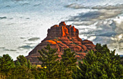 Gregory Dyer - Sedona Arizona Bell Rock Painting