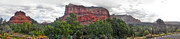 Sedona Arizona Bell Rock Panorama Print by Gregory Dyer