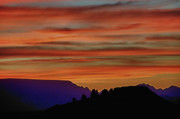Sedona. Sunset Posters - Sedona AZ Sunset 2 Poster by Ron White
