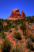 Sedona Framed Prints - Sedona Landscape Framed Print by David Patterson