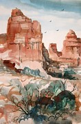 Mjonesart Prints - Sedona Print by Micheal Jones
