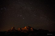 Bill Cantey Metal Prints - Sedona Milky Way Metal Print by Bill Cantey