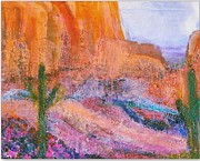 Arizona Memories Paintings - Sedona on My Mind Revisited by Anne-Elizabeth Whiteway
